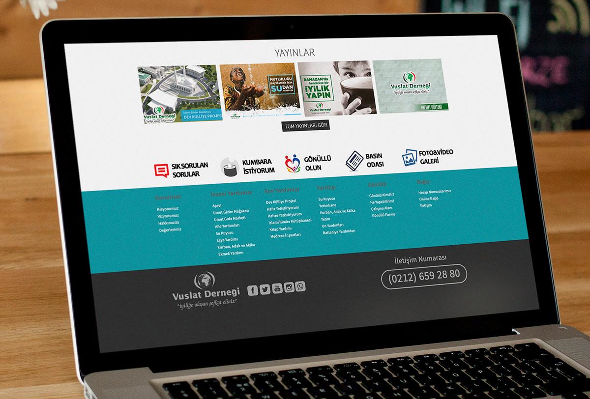 Vuslat Derneği Web Site Tasarımı - Sefa Gedik